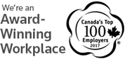 We're an Award-Winning workplace | Canada's Top 100 Employers 2017